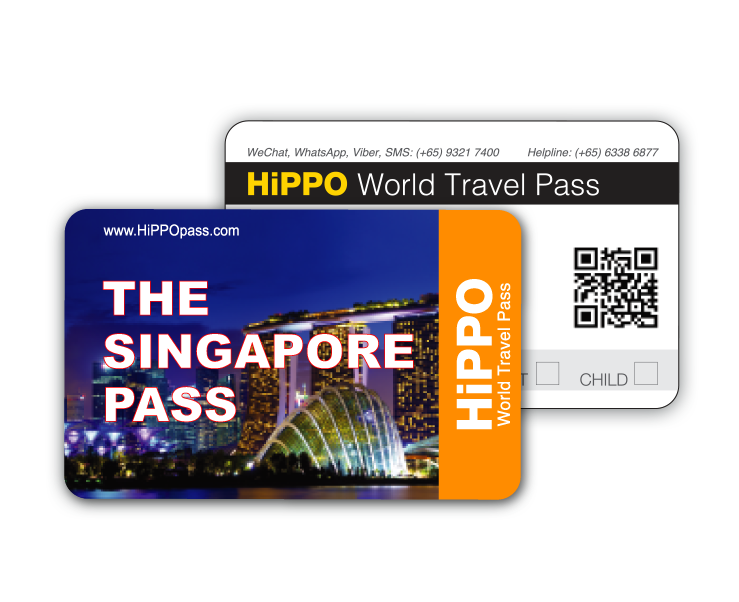 HiPPO Singapore Pass – Amazing Singapore In One Card
